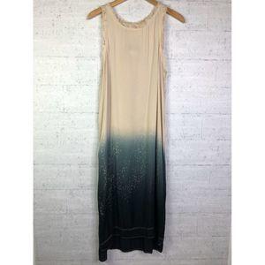🌵Nwt PPLA Lina Woven Midi Ombre Dress